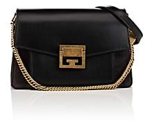 Givenchy Women's GV3 Small Leather & Suede Shoulder Bag-Black