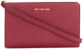 MICHAEL Michael Kors logo plaque shoulder bag - RED - STYLE
