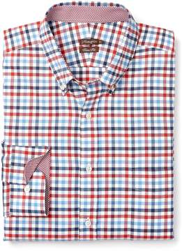 J.Mclaughlin Westend Trim Fit Shirt in Check