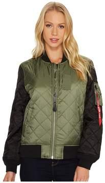 Alpha Industries MA-1 Diamond Jacket Women's Coat