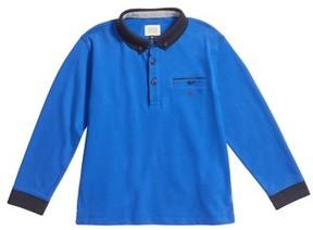 Armani Junior Boy's Long Sleeve Polo