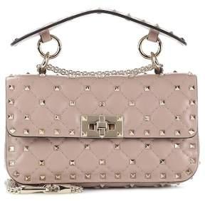 Valentino Rockstud Spike leather shoulder bag