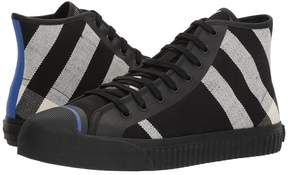 Burberry Kirk High Top Sneaker Men's Lace up casual Shoes