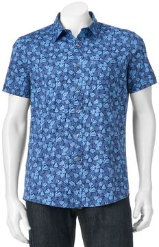 Apt. 9 Men's Slim-Fit Patterned Button-Down Shirt