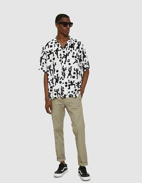 Carhartt Wip S/S World Party Shirt in World Party Print / White