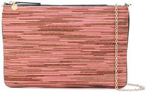 M Missoni zipped rectangle clutch bag