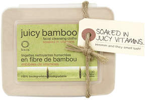 Smallflower Juicy Bamboo Facial Cleansing Cloths by Kaia (30 Cloth)