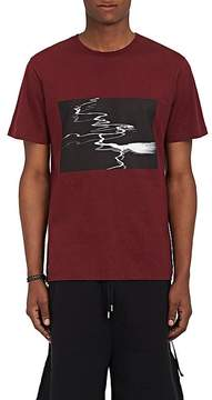 Public School Men's Abstract-River-Graphic Cotton T-Shirt