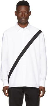 Public School White Neruda Webbing Shirt