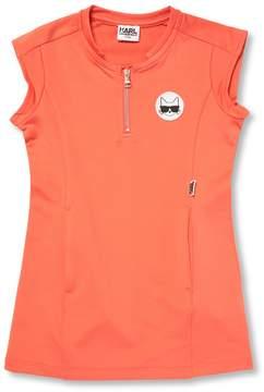 Karl Lagerfeld Little Girl's Zipper Shift Dress