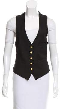 Boy By Band Of Outsiders Wool V-Neck Vest