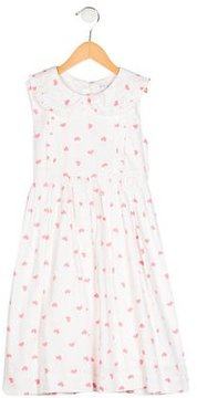 Rachel Riley Girls' Heart Print Sleeveless Dress