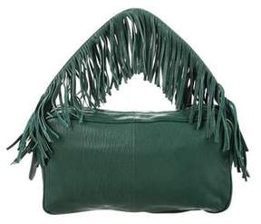 Schumacher Fringe Handle Bag