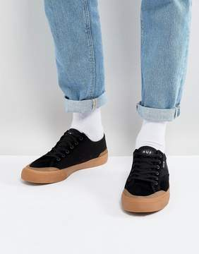 HUF Classic Lo Sneakers In Black