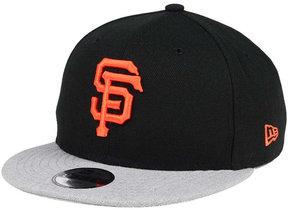 New Era Boys' San Francisco Giants Heather Vize 9FIFTY Snapback Cap