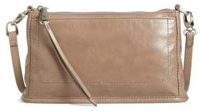 Hobo 'Small Cadence' Leather Crossbody Bag - Grey