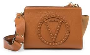 Mario Valentino Valentino By Kiki Rock Studded Leather Crossbody Bag