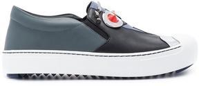 Fendi Faces slip-on sneakers