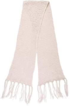 Max Mara Wool-Blend Knit Scarf
