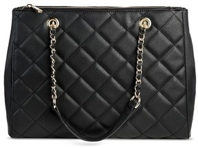 Mossimo Women's Quilted Tote Handbag - Mossimo
