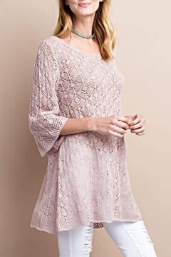 Easel Bell Crochet Sweater