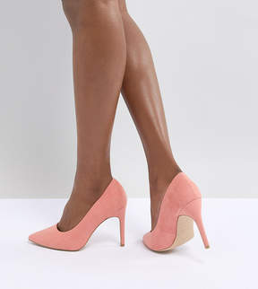 New Look Wide Fit Pointed Court Shoe