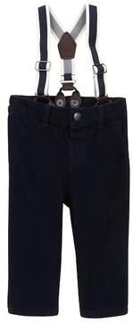 Joe Fresh Corduroy Pants with Suspenders (Baby Boys)