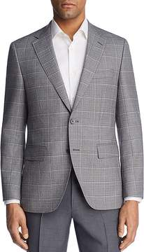 BOSS Jewels Regular Fit Windowpane Sport Coat