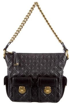 Marc Jacobs Blake Hobo Bag - BLACK - STYLE