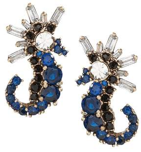 Banana Republic Jeweled Seahorse Stud Earring