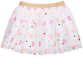 Epic Threads Little Girls Printed Tulle Skirt, Created for Macy's