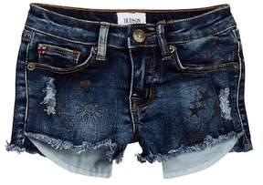 Hudson Scribble Shorts (Little Girls)