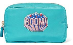 Anya Hindmarch Boom Leather-Trimmed Shell Cosmetics Case