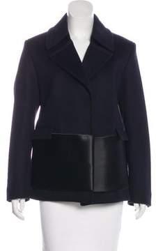 Celine Virgin Wool Notch-Lapel Jacket