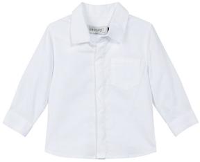 Jean Bourget White Cotton Shirt