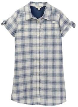 Lucky Brand Bree Plaid Shirt Dress (Big Girls)
