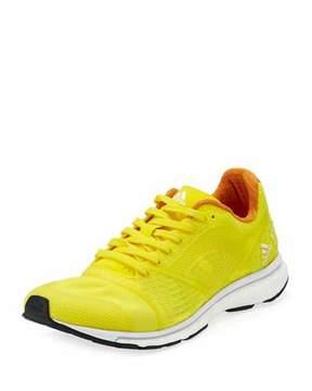adidas by Stella McCartney Adizero Adios Knit Sneaker, Yellow/Pink