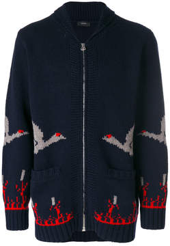 Joseph zip-up sweater