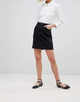 B.young Denim Skirt