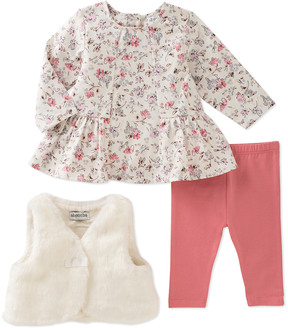 Absorba Girls' 3Pc Vest Set