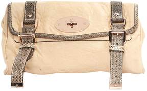 Mulberry Leather clutch bag