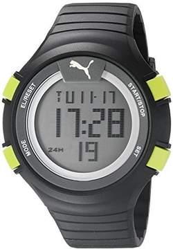 Puma 10359 black luminous PU911281001 Polyurethane Digital Unisex Watch