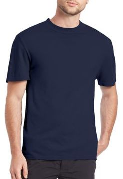 Alexander Wang Solid Crewneck Cotton Tee