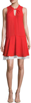 Cynthia Steffe Women's Estella Twist Flared Dress