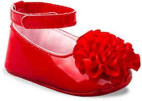 Laura Ashley Girls Anna Infant Crib Shoe