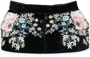No.21 floral embroidered belt