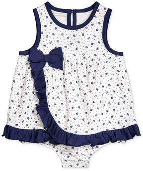 First Impressions Floral-Print Skirted Romper, Baby Girls (0-24 months), Created for Macy's