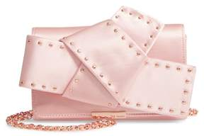 Ted Baker Giant Knot Satin Clutch