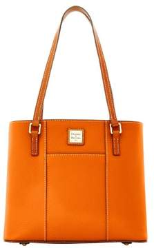 Dooney & Bourke Pebble Grain Small Lexington Shopper Bag - TANGERINE - STYLE