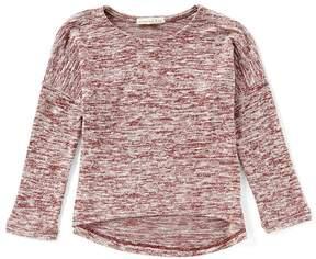 Copper Key Little Girls 4-6X Hi-Low Knit Top